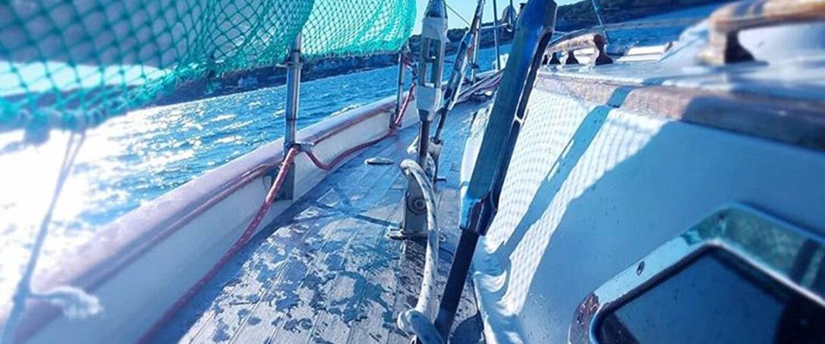sailing view deck large